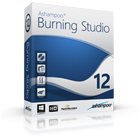 Ashampoo Burning Studio 12 lets you burn, backup, and copy all of your important files to Blu-ray, DVD, or CD.