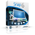 Ashampoo Snap 6 lets you record and document anything on your screen as screenshot images and video screencasts featuring audio.