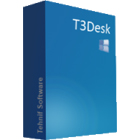T3Desk offers a 3D desktop module, a new Windows manager, and a new Applications manager that will make you more productive and efficient.