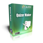 A-PDF Quizzer lets you build and publish multiple types of online quizzes, from multiple choice to True/False and Fill in the Blank.