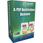 A-PDF Restrictions Remover can remove password protection and copy/edit/print restrictions from PDF documents in just a few seconds.