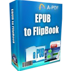 A-PDF EPUB to Flipbook lets you convert EPUB books to 3D animated page flipping books or PDF documents.