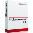 FILEminimizer PDF 7.0 is an amazing application that reduces the size of PDF files by up to 90% without compromising your ability to open and view them.