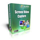 A-PDF Screen Video Capture captures all of your PC desktop activity to standard WMV, MPEG, and AVI video files, for instruction and demonstration purposes.