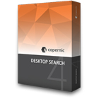 Copernic Desktop Search 4 lets you find files and emails anywhere they are located on your computer, across your internal drive, network shares, and external drives.