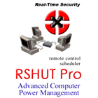 RSHUT PRO allows you to quickly and automatically shutdown or wake up your computers in your home LAN domain, workgroup, or large corporate network.