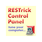 RESTrick Control Panel is a powerful tool that can help you tune your Windows system. Tweak system settings, registry settings (including the hidden ones), and more.