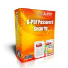 A-PDF Password Security gives you total control over password encryption for PDF files - remove passwords, implement passwords, impose access limits - for multiple files at once.