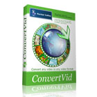 ConvertVid is a fantastic application that gives you the power to take any video file and convert it to any format, including portable players.