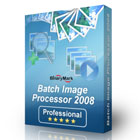 Batch Image Processor 2008 Professional lets you apply more than 90 actions to sets of your digital photos, with live preview and web gallery creation.