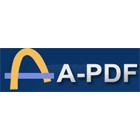 A-PDF Word to PDF performs batch conversions of Word, TXT, RTF, and WRI documents to PDF, with the ability to apply watermarks and security restrictions.