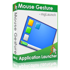 Mouse Gesture Application Launcher is a fantastic new way of launching your favorite applications and file folders with a simple movement of the mouse.