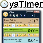 yaTimer uses colorful graphics and intuitive controls to make the task of tracking your time across multiple tasks easy, with advanced settings and printed report capabilities.