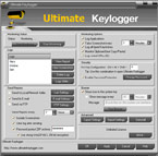 KRyLack Ultimate Keylogger Screenshot