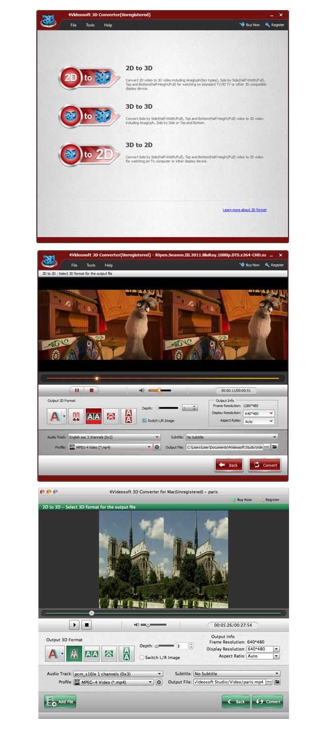 3703 - 4Videosoft 3D Converter (24 Saat Kampanya)