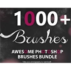 1000+ Awesome Photoshop Brushes Bundle (Mac & PC) Discount