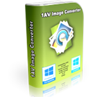 1AV Image Converter converts image files to a broad array of popular file formats, with seven input formats and over two dozen output formats.