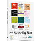 20 Handwriting FontsDiscount