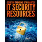 2015 Top Trending 4th Quarter IT Security ResourcesDiscount