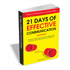 21 Days of Effective Communication - Everyday Habits and Exercises to Improve Your Communication Skills and Social IntelligenceDiscount