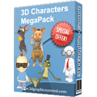 3D Character MegaPack (PC) Discount