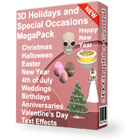 3D Holidays and Special Occasions MegaPackDiscount