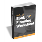 6-Step Book Planning Worksheet (Mac & PC) Discount