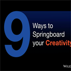 9 Ways to Springboard your CreativityDiscount