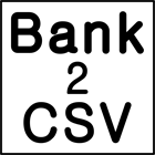 Bank2CSVDiscount