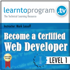 Become a Certified Web Developer Level 1 (Mac & PC) Discount