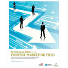 Better Lead Yield in the Content Marketing FieldDiscount