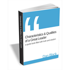 Characteristics & Qualities of a Great Leader - Quote BookDiscount