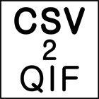 CSV2QIF and CSV2QFXDiscount
