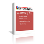 DesignerVista GUI Mockup Software (PC) Discount