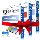 Disk Doctors Bundle - Data Sanitizer, File Shredder and Drive Manager (PC) Discount