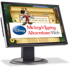 Disney: Mickey's Typing Adventure Web - Annual Subscription (Mac & PC) Discount