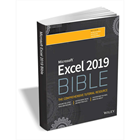 Excel 2019 Bible ($35.99 Value) FREE for a Limited TimeDiscount