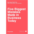 Five Biggest Mistakes Made in Business TodayDiscount