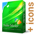 Folder Marker Pro + Extra Folder Icons BundleDiscount