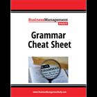 Grammar Cheat SheetDiscount