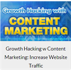 Growth Hacking w Content Marketing: Increase Website Traffic (Mac & PC) Discount