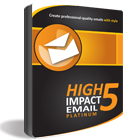 High Impact eMail 5 Platinum (plus 3 Months to the TemplateZone Store)Discount