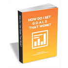 How Do I Set Goals That Work?Discount