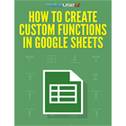 How to Create Custom Functions in Google Sheets (Mac & PC) Discount