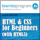 HTML and CSS for Beginners (with HTML5) (Mac & PC) Discount