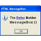 HTML MessageBox (PC) Discount