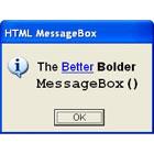 HTML MessageBoxDiscount