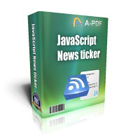 JavaScript News TickerDiscount