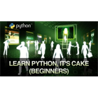 Learn Python, it's CAKE (Beginners)Discount