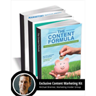 Michael Brenner's Exclusive Content Marketing KitDiscount